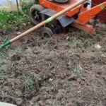 Fräsen zur Bodenlockerung
