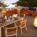 Outdoorküche Terrasse gestalten