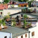 Garten am Dach