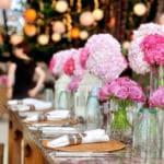 Gartenfest Hochzeitstafel