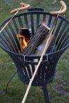 Feuerkorb Eisen Grillen