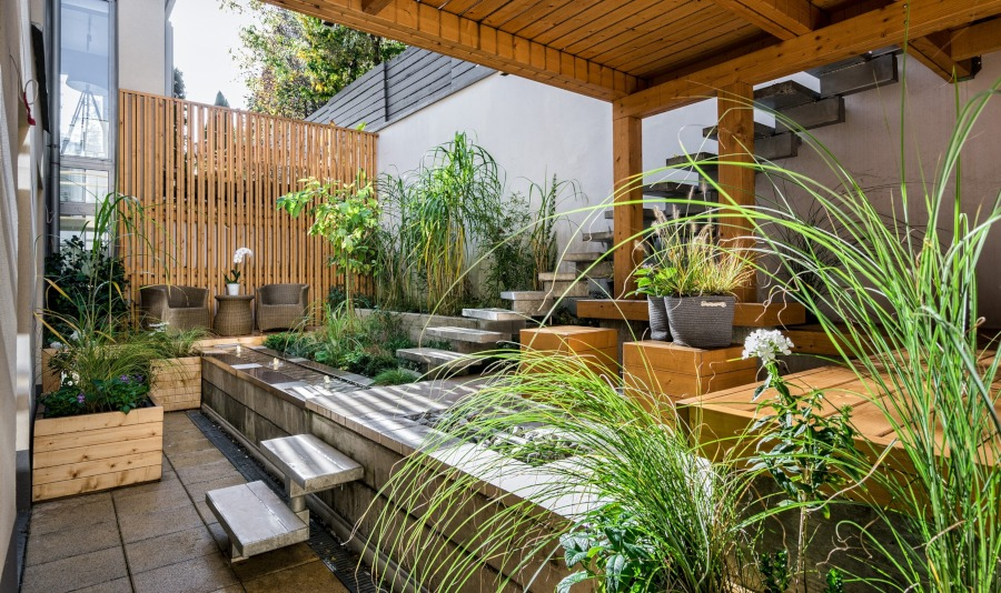 Ganz und zu Extrem Dachterrasse gestalten - Flaechenlust Grünraumdesign &JR_06