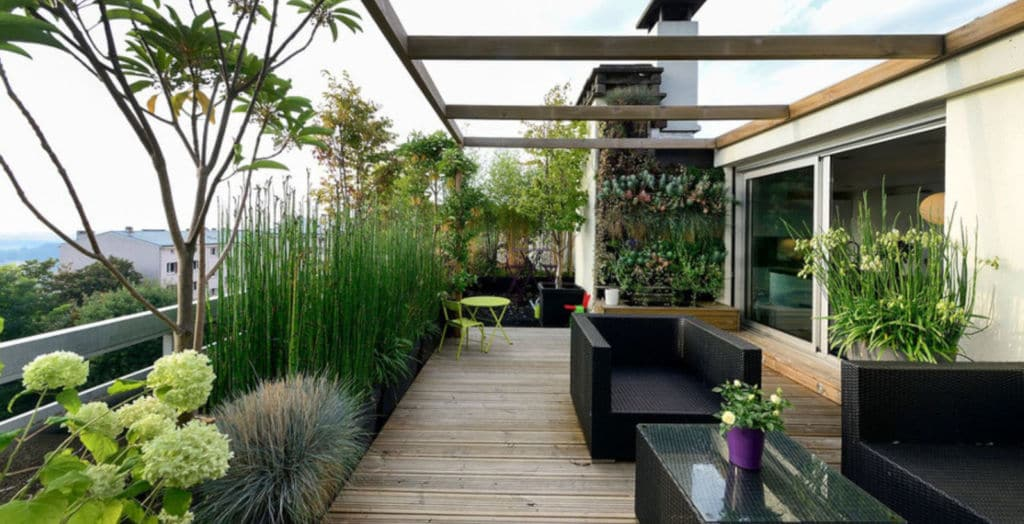 dachgarten gartenplanung Bepflanzungsplan