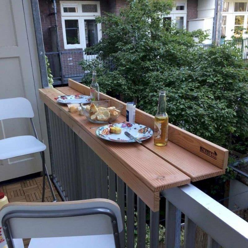 balkon gestalten sitzplatz
