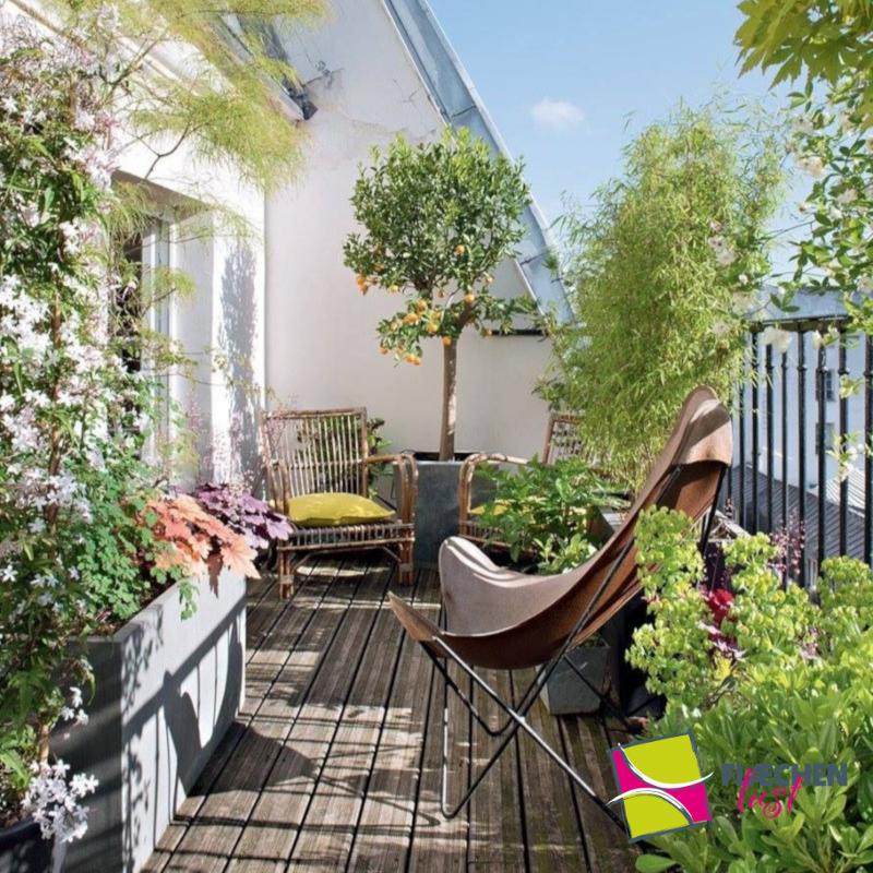 balkon ideen balkongarten