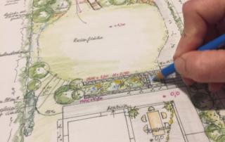 Gartenarchitekt Gartenplan