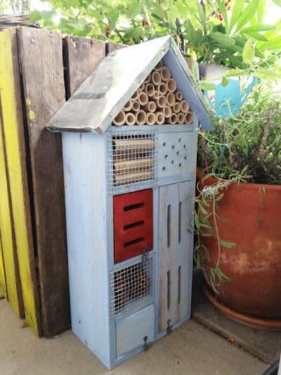 nützlingshotel insektenschutz balkongarten