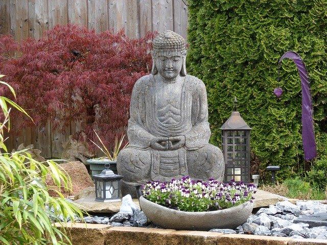 asiatischer Garten schattengarten