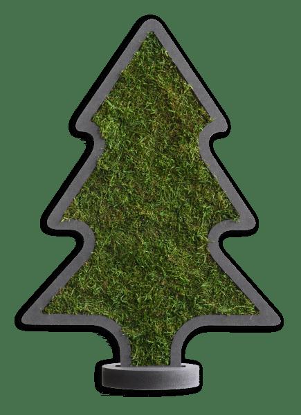 Weihnachten Moosbaum Ständer