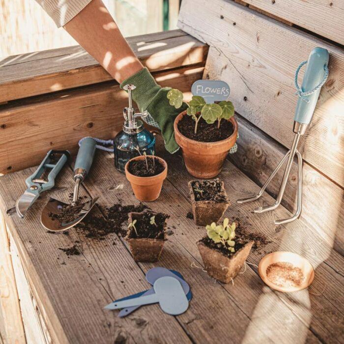 gartenwerkzeug für den Balkon Dachterrasse